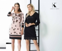 k- design m420 rose kleedje links