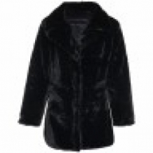 manteau teddy noir super doux